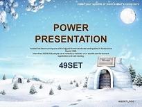 애니2_눈오는 풍경속 이글루_0067(소울피티)
