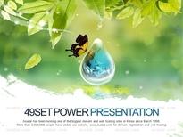 애니2_맑은 물방울과 자연(퓨어피티)