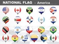 1종_아메리카 national flag ICON_맑은피티