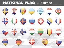 1종_유럽 national flag ICON_맑은피티