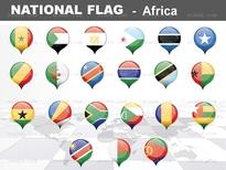 1종_아프리카 national flag ICON_맑은피티