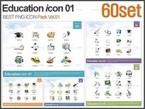 교육 아이콘 패키지01 Vol.03(60Set)_바니피티
