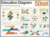 학교교육 다이어그램 패키지Vol.01(50종)_바니피티