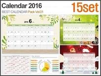 2016년 캘린더 패키지 Vol.01(15종)_바니피티